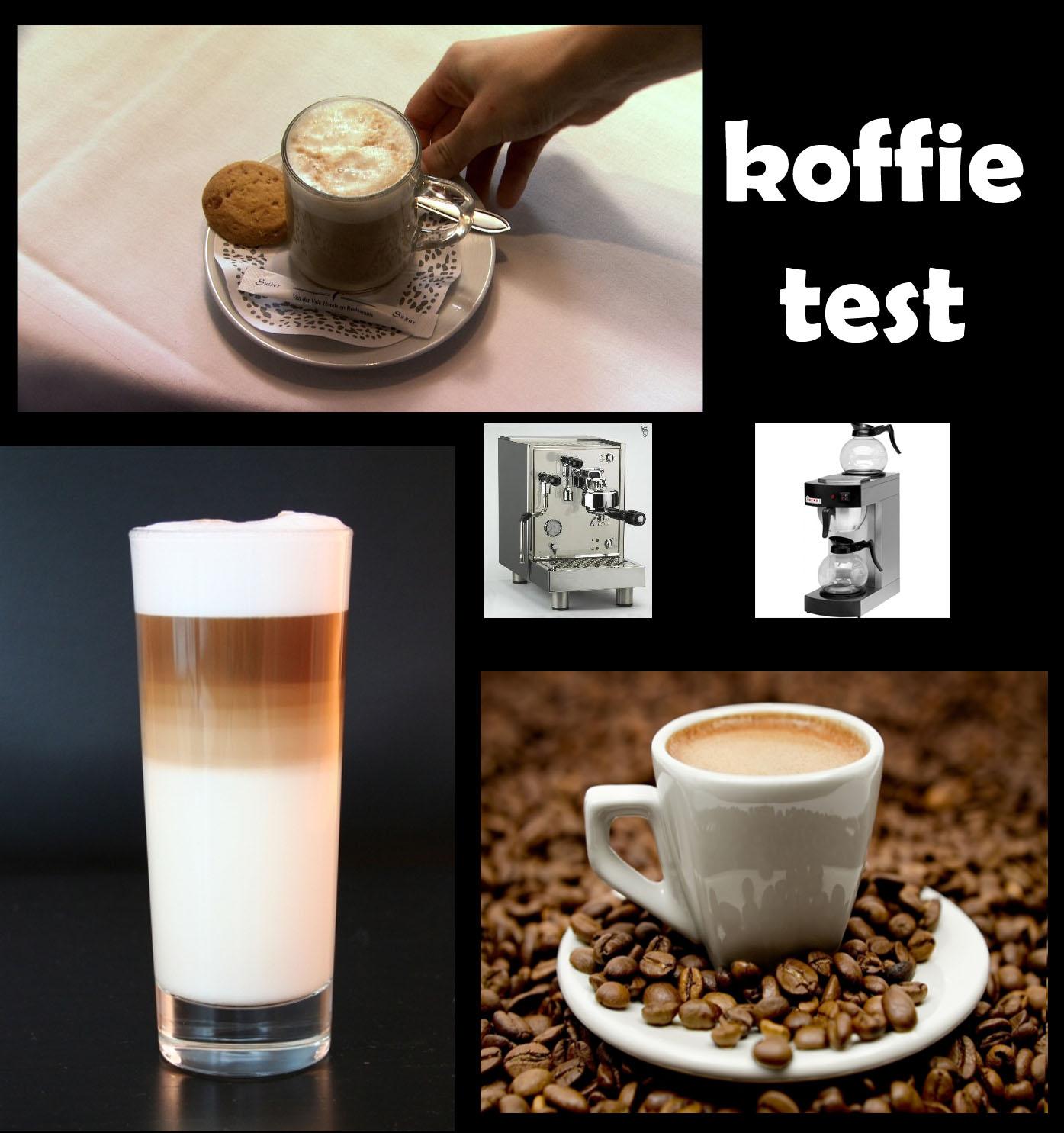 koffie test