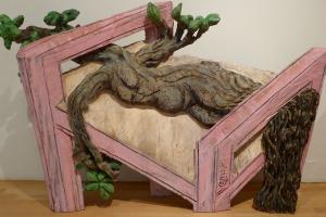 houtenbed