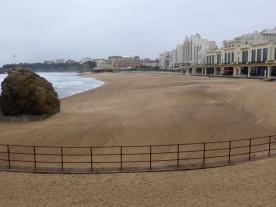 Strand van Biarritz
