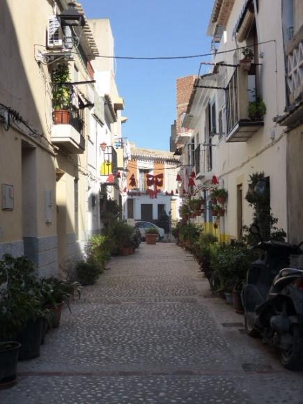 Straatje villa Joiosa