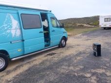 camperplaats bij Biarritz