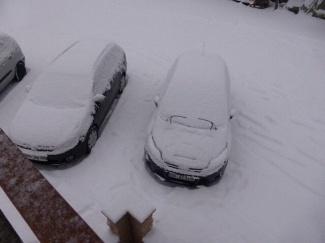 Veel sneeuw in kösesn