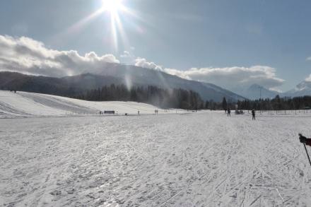Heerlijk zo in de sneeuw