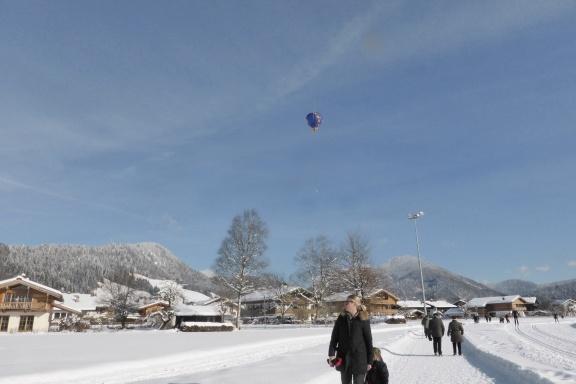 Sneeuw en heerlijk wandelen