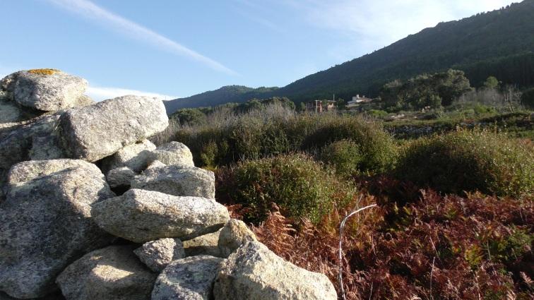 Stones in THE way to Santiago de Compostela