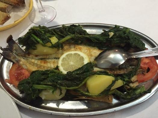 Heerlijk verse vis