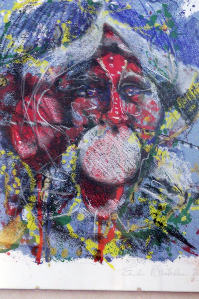 schilderij Emeke
